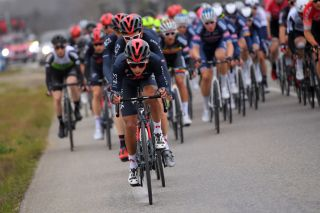 LA CALMETTE FRANCE FEBRUARY 04 Egan Arley Bernal Gomez of Colombia and Team INEOS Grenadiers during the 51st toile de Bessges Tour du Gard 2021 Stage 2 a 154km stage from SaintGenis to La Calmette EDB2020 on February 04 2021 in La Calmette France Photo by Luc ClaessenGetty Images