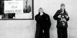 Clerks 3 Has Finished Filming, Here's How Kevin Smith Celebrated