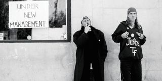 Kevin Smith and Jason Mewes in Clerks
