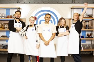 The first group of stars get ready to impress judges Gregg and John.