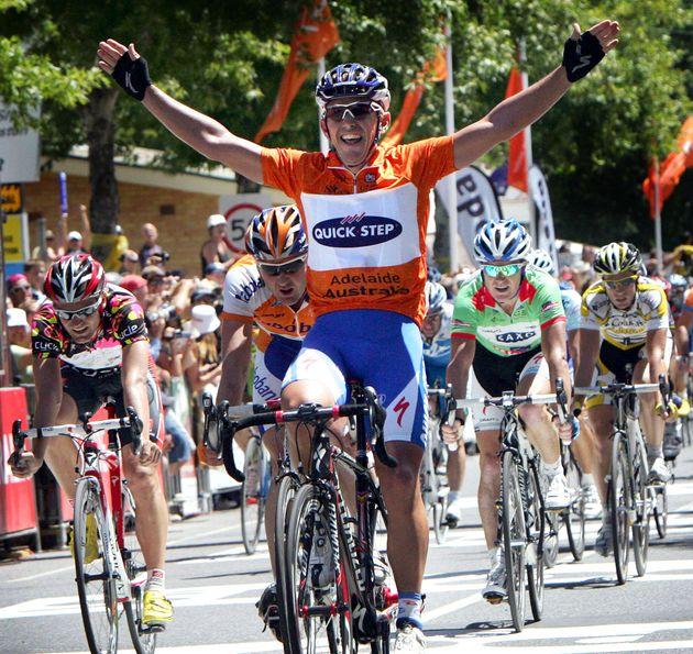Allan Davis wins stage 4 tour down under 2009