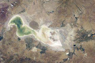 Lake Urmia in Iran