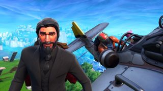 fortnite plane highlights include rocket dogfights upside down snipes and painful squishes - fortnite best snipes 2019