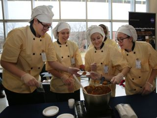 Quinoa Curry at HUNCH Culinary Challenge