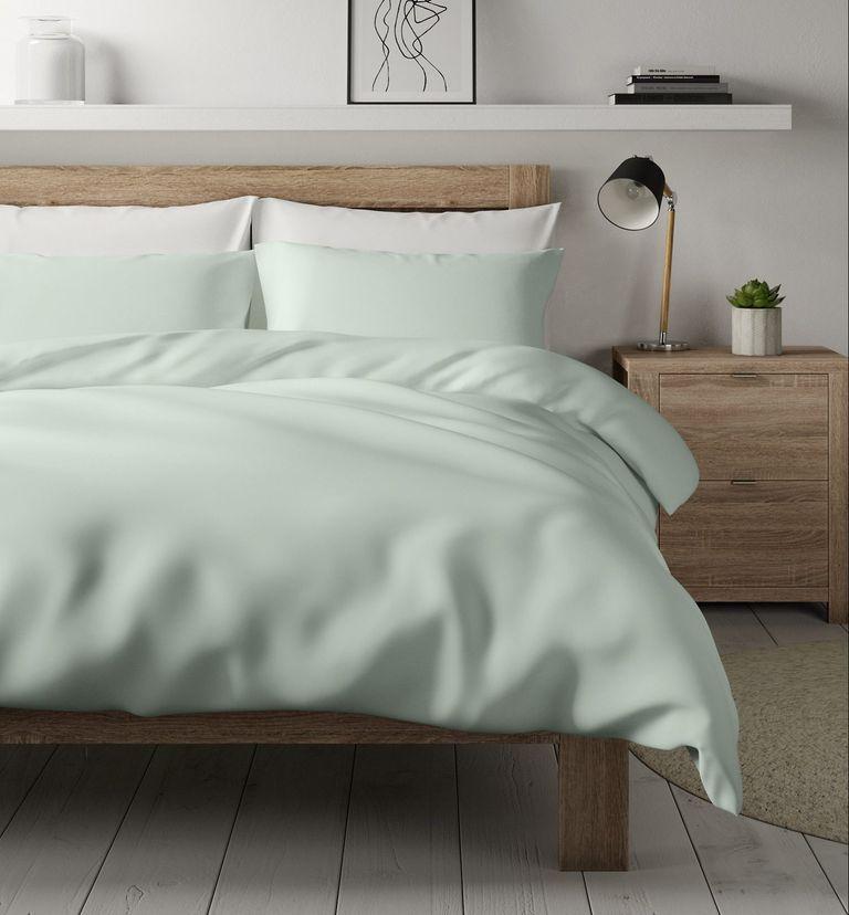 M&S duvet cover on bed