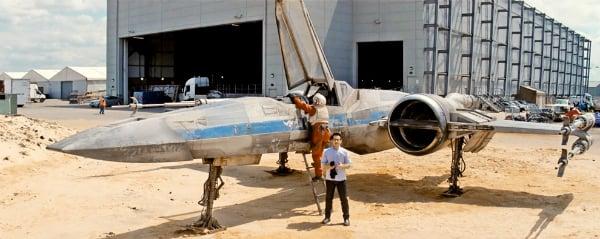 J.J. Abrams X-Wing Split