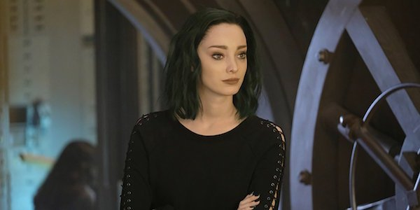 Emma Dumont as Polaris on The Gifted