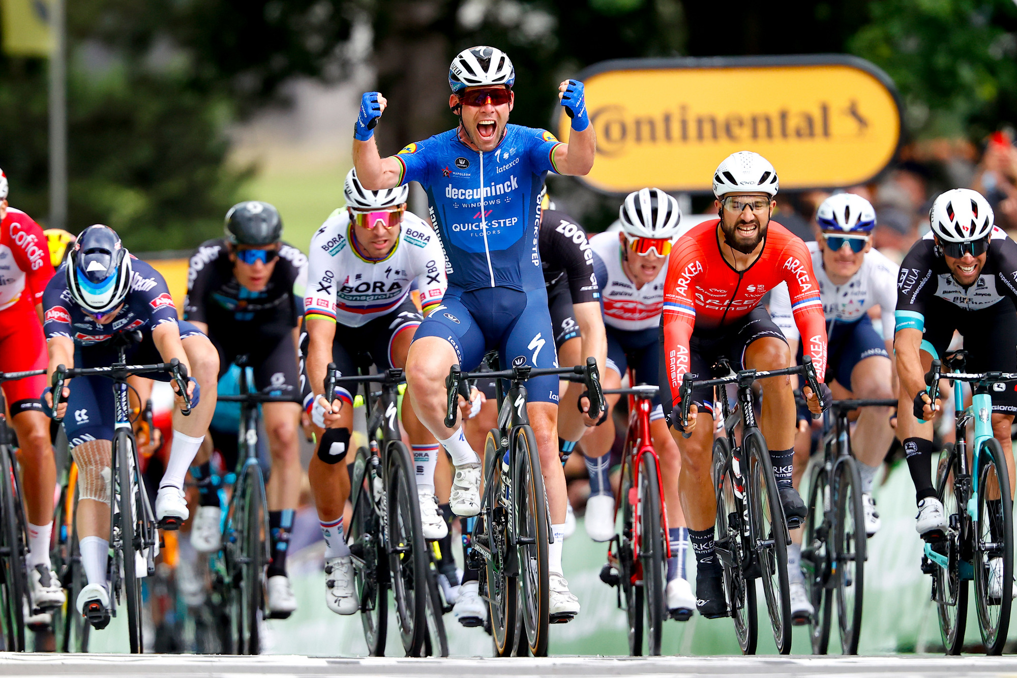 Tour de France 2021 - 108th Edition - 4th stage Redon - Fougeres 150,4 km - 29/06/2021 - Mark Cavendish (GBR - Deceuninck - Quick-Step) - photo Luca Bettini/BettiniPhoto©2021