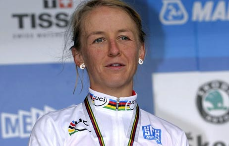 Emma Pooley, 2010 World TT champ R