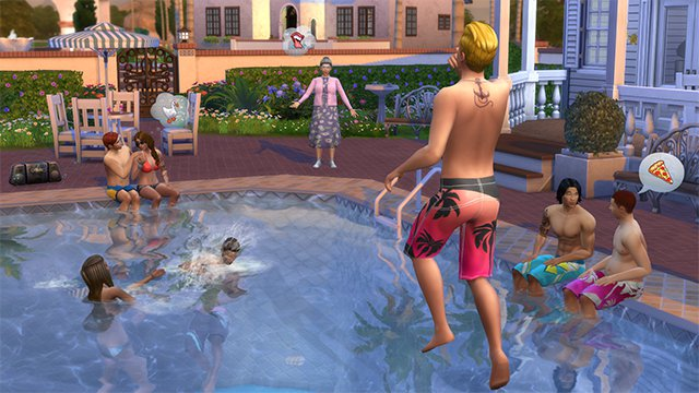 The Sims 4 Pool Update Is Now Live #32141