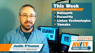 AV/IT Weekly Update with Justin O'Connor: Episode 5