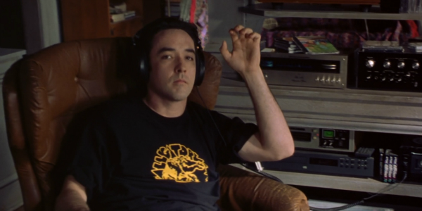 John Cusack in the movie High Fidelity