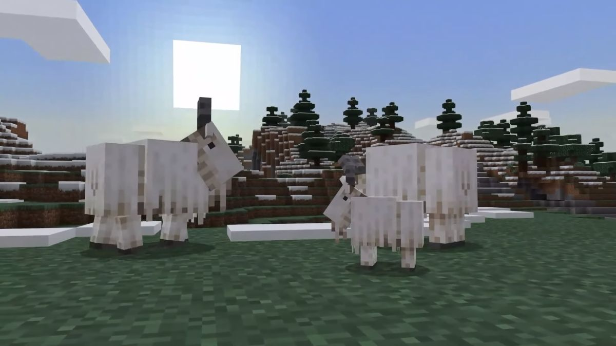 Minecraft's screaming goat mobs are voiced by legit screaming goats