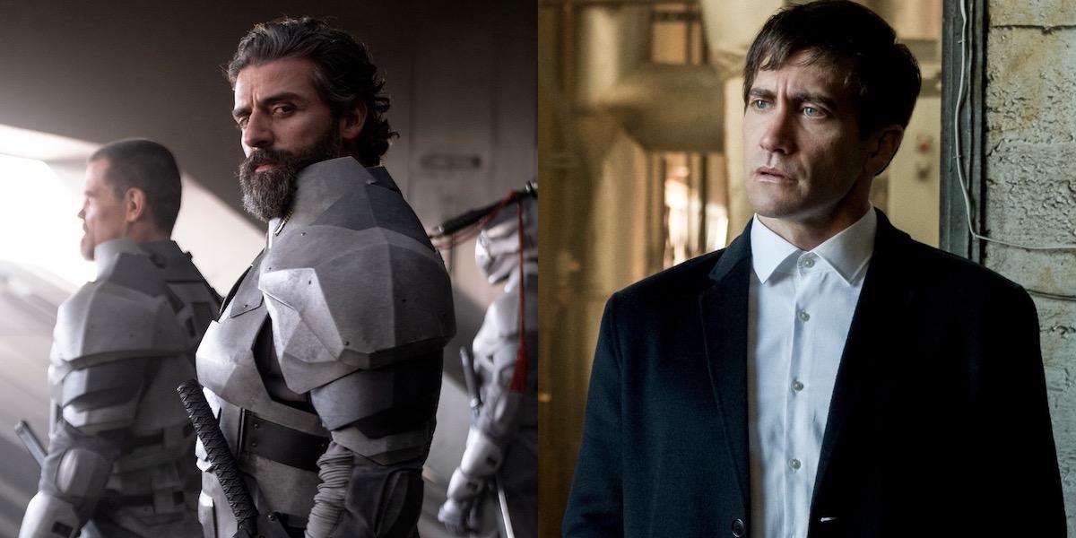 Oscar Isaac and Jake Gyllenhaal