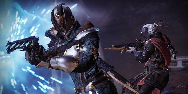 Guardians battling in Destiny 2.