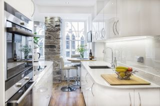 this small kitchen idea packs plenty into a compact space