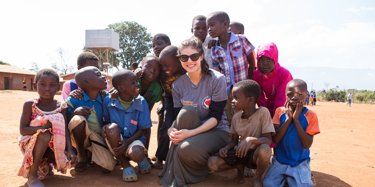 Alexandra Daddario on a humanitarian effort trip to Malawi