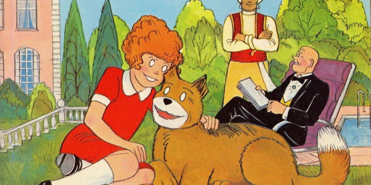 Little Orphan Annie Comic