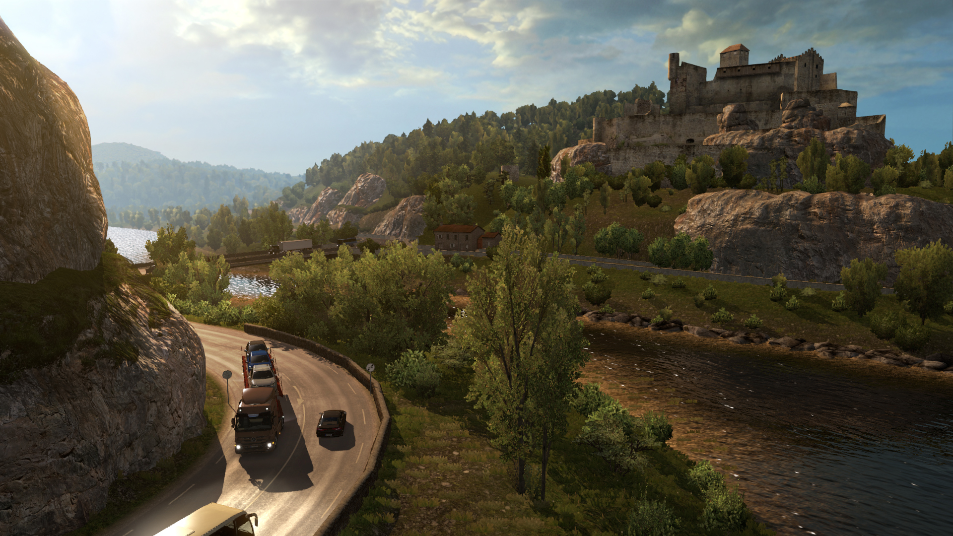 Taking Euro Truck Simulator 2's new France expansion for a
