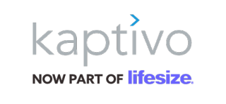 Kaptivo, a part of LifeSize logo