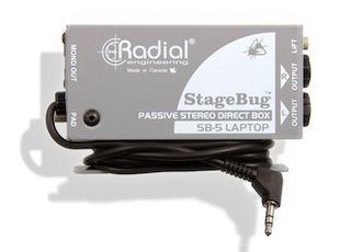 Radial Introduces StageBug SB-5 Sidewinder Laptop Direct Box