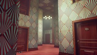 Control's ash tray maze filled will corridors of red doors and patterned wall paper
