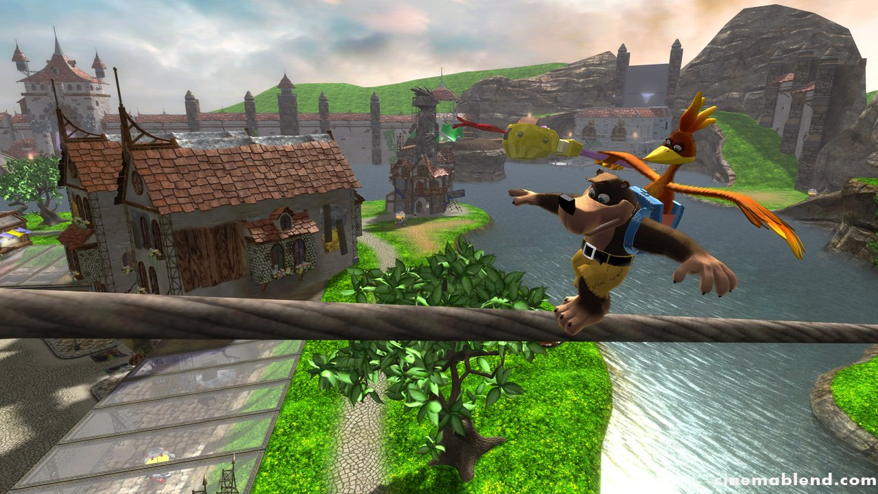Banjo-Kazooie: Nuts And Bolts - First Details And Screens #1969