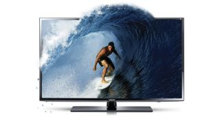A Samsung 3D TV, now discontinued