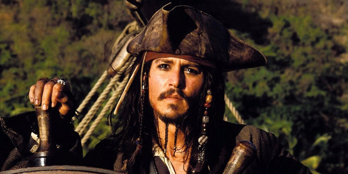 Johnny Depp as Capt. Jack Sparrow