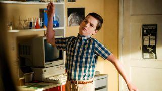 'Young Sheldon' stars Iain Armitage as young Sheldon Cooper of 'The Big Bang Theory.'