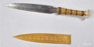 King Tut's dagger, meteorite