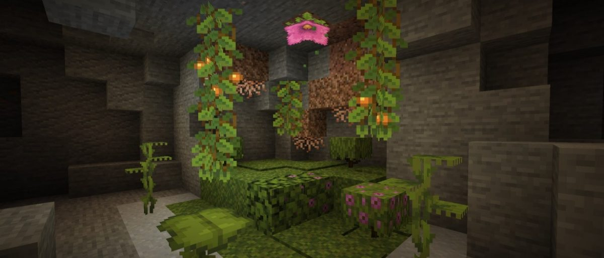 The new Minecraft snapshot has cave vines, glow berries and drip leaves