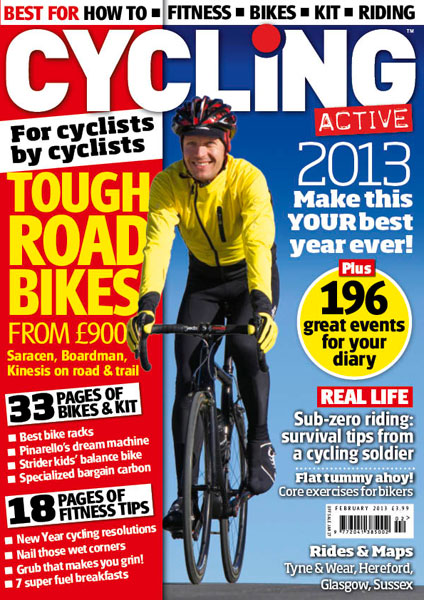 Cycling Active February 2013 issue