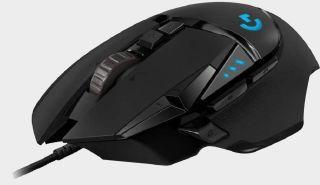 Logitech G502 mouse