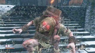 Sekiro Chained Ogre boss