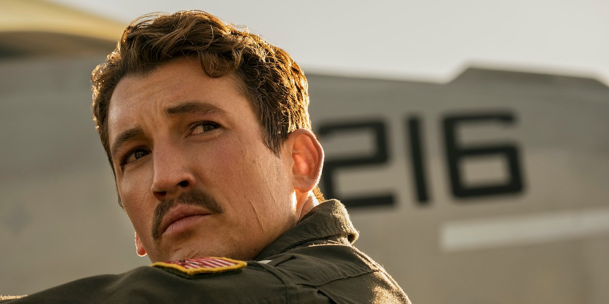 Miles Teller in Top Gun: Maverick
