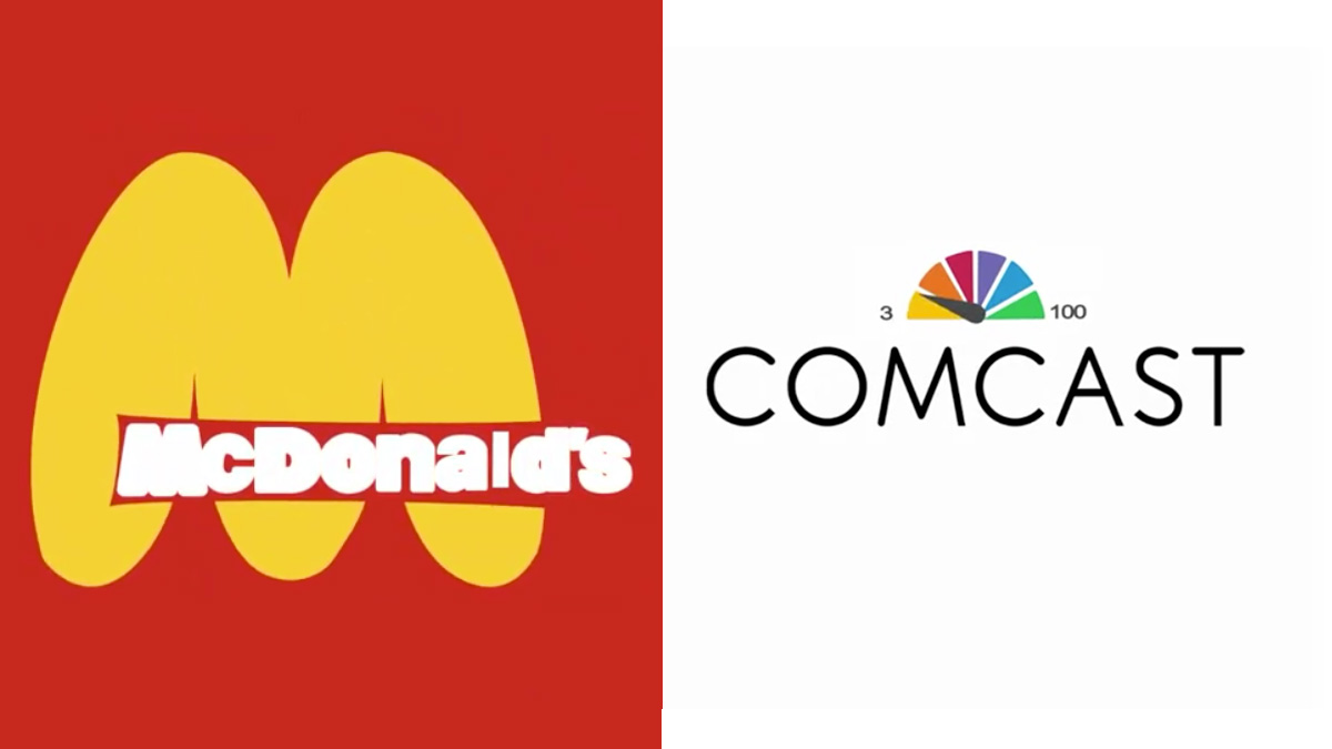 Logo redesigns reveal the sinister side of big brands | Creative Bloq