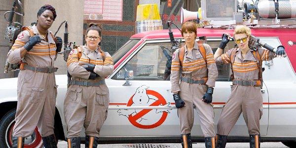 Leslie Jones Melissa McCarthy Kristen Wiig Kate McKinnon in Ghostbusters