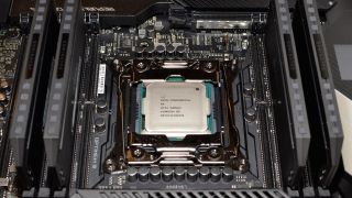 Core i9-10980XE CPU and motherboard