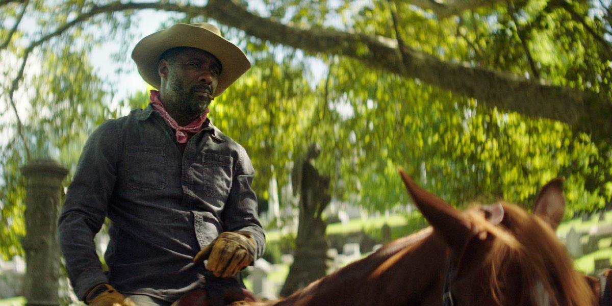 Idris Elba in Concrete Cowboy
