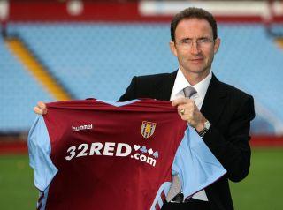 Soccer – Aston Villa press conference – Villa Park, Birmingham