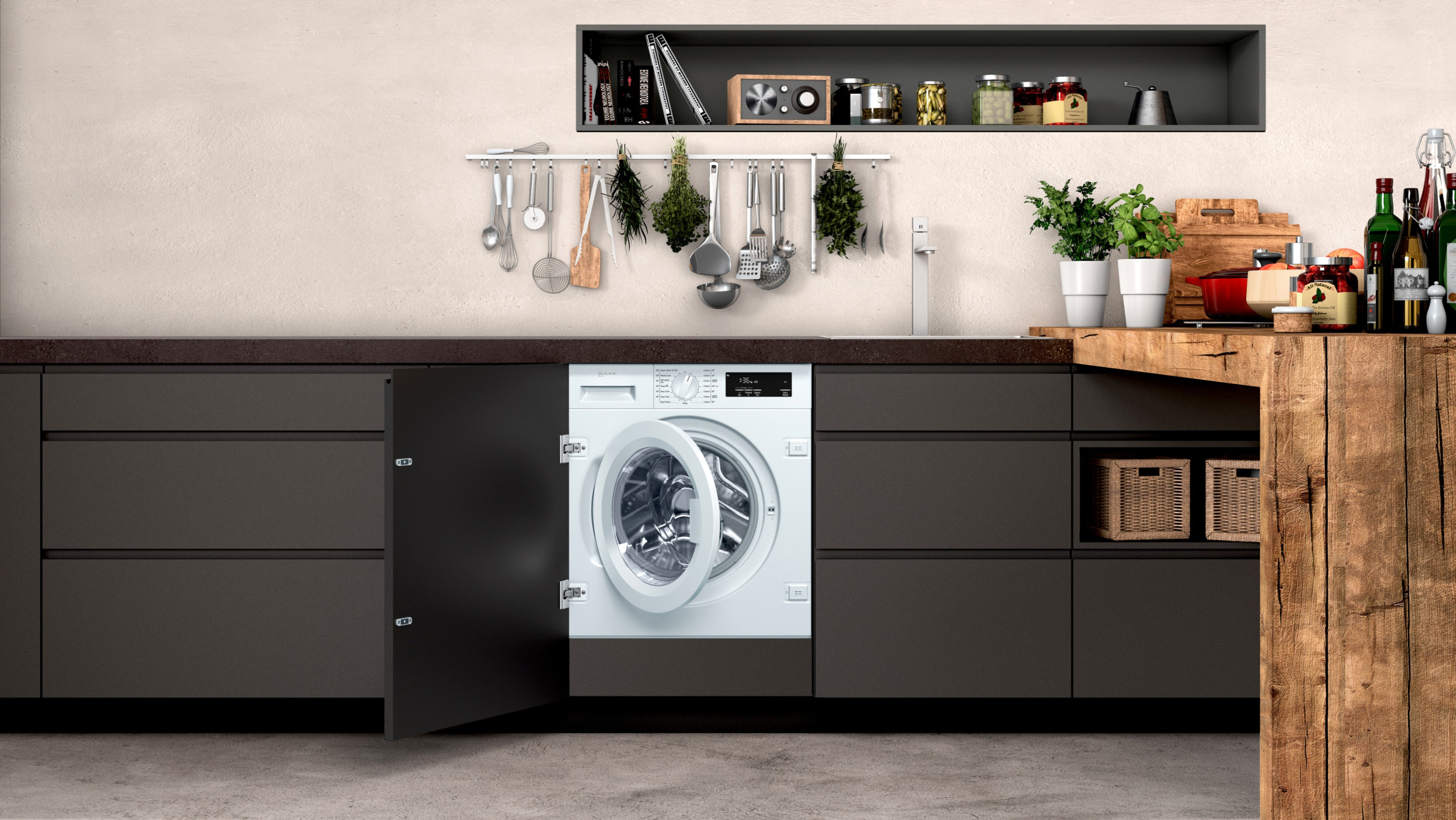 Best Integrated Washing Machine 2020 5 Built In Washing Machines Real Homes