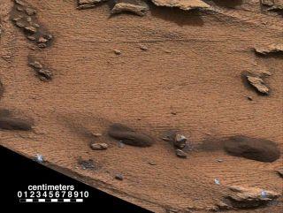 'Pahrump Hills' Outcrop on Mars