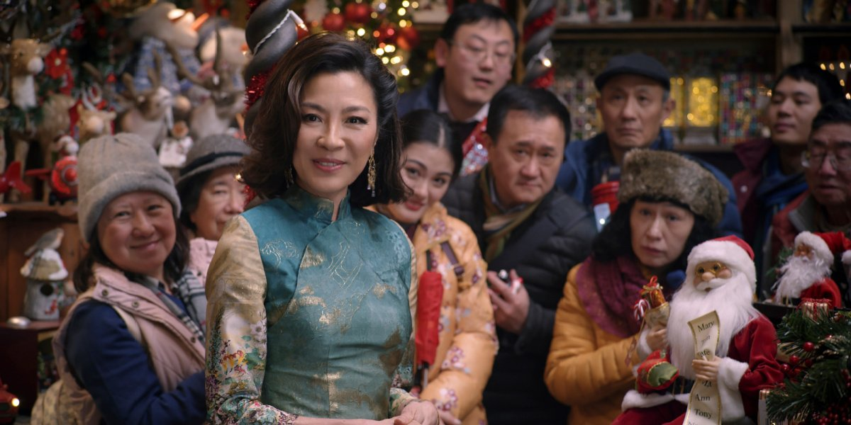 Michelle Yeoh will play Professor Anemone in The School for Good and Evil.
