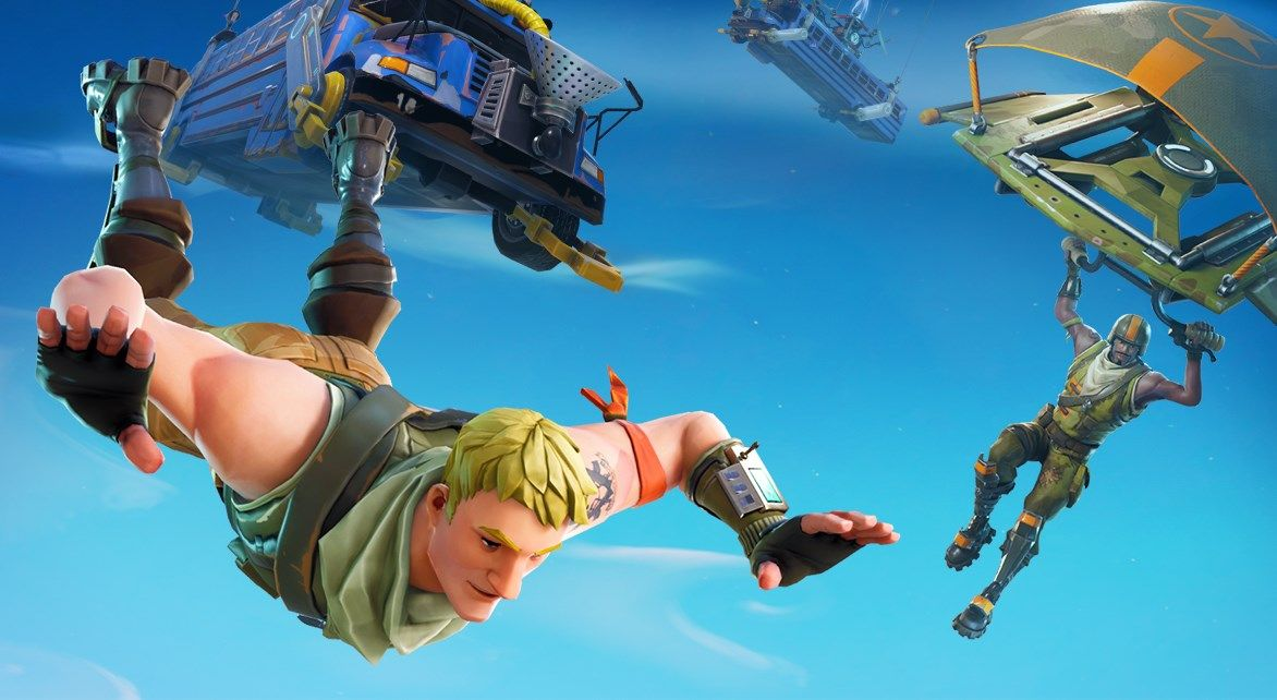 Fortnite v4.2 update adds Burst Assault Rifles and healthy apples