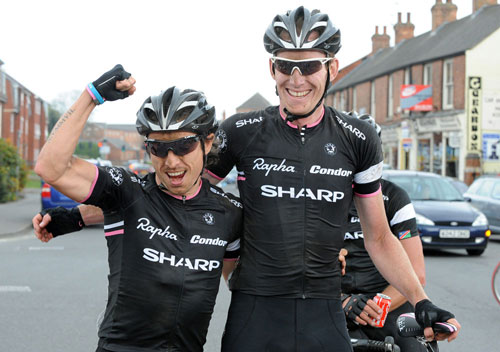 Zak Dempster and Dean Downing, Rutland-Melton CiCLE Classic 2011