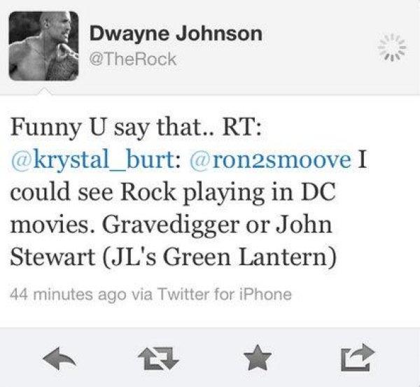 Rock Green Lantern