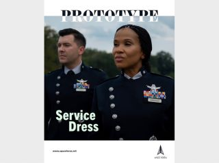 The US Space Force unveiled its prototype dress uniform on Sept. 21, 2021.