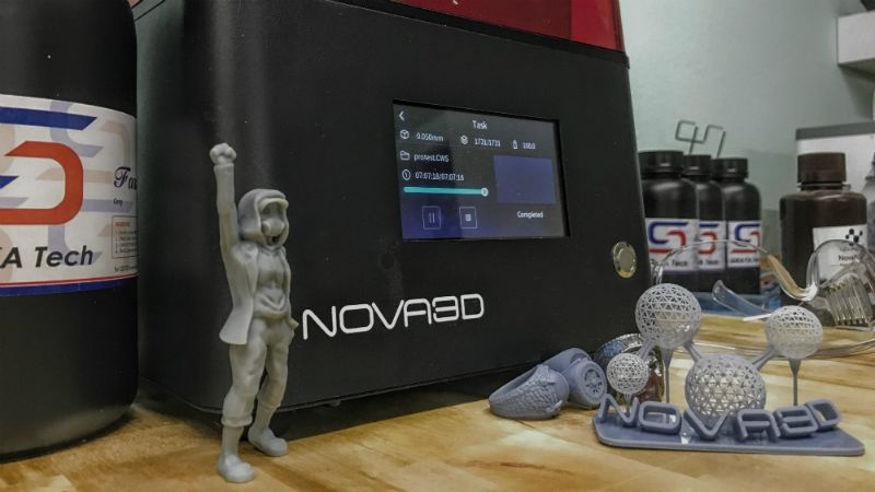 Nova3D Bene4 3D printer review: A solid printer with some quality touches