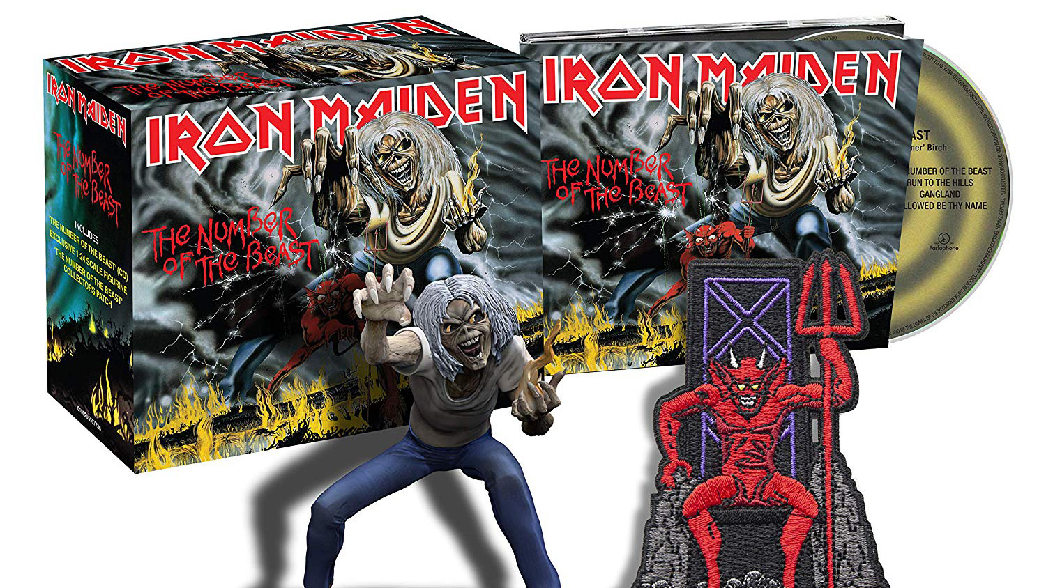 Iron Maiden will revisit their past with new CD series